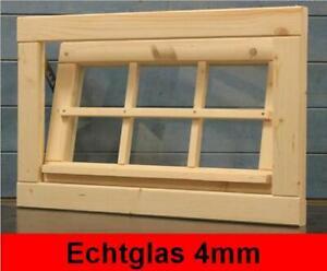 Gartenhausfenster 68x43cm Kippfenster 4mm Glas Carport Werkstatt Fenster Haus