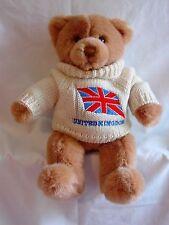 Gund - Tender Teddy wearing a United Kingdom Sweater