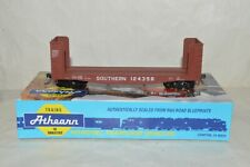 HO scale Athearn Southern Ry 40' pulpwood rack flat car train KD's