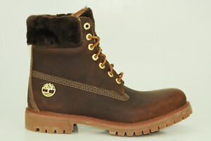 Timberland Icon 6 Inch Premium Shearling Boots Waterproof Men A1U5Q