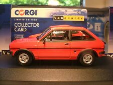 SUPERB NEW VANGUARDS 1981 1/43 FORD FIESTA MK 1 SUPERSPORT RIGHT HAND DRIVE NLA