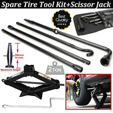 For 2004-2014 Ford F150 Premium Spare Tire Tool Kit Lug Wrench,Bag, Scissor Jack