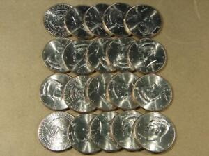 2011-P Kennedy Half Dollar Uncirculated Roll Of 20 Coins