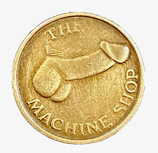 Vintage 'The Machine Shop' Coin - Adult Risqué Sex Store - Entertainment Token