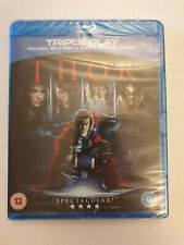 Thor Blu Ray Very Good Condition Sealed Marvel Triple Play with DVD