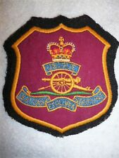 Royal Artillery QC Blazer Badge, Original Item, Post 1953