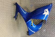 2009 SUZUKI GSXR1000 LEFT LOWER BOTTOM BELLY SIDE FAIRING COWL