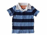NWT Boy's Gymboree Everyday All Star blue polo shirt ~ 12 18 24 months 2T 3T