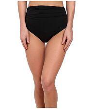 KAMALIKULTURE by Norma Kamali Women's Shirred Bottom Swimsuit Bottoms SZ XS