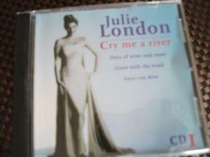 JULIE LONDON CRY ME A RIVER CD 1   CD