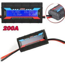 200a Rc Wattmeter Power Analyzer Dc Digital Monitor Battery Voltage Ampere Meter