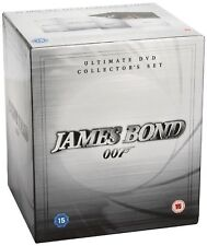 JAMES BOND 007 ULTIMATE DVD Collector's Set 1962 DVD Sean Connery Brand NEW R2