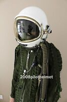 Spacesuit Flight Helmet High Altitude Astronaut Space Pilots Flight Suit -1# XXL