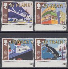 Great Britain 1988 ** Mi.1147/50 Transport Kommunikation Communication [sq7816]