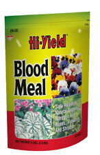 Hi-Yield Blood Meal 8 lb nitrogen natural fertilizer food 12-0-0 source