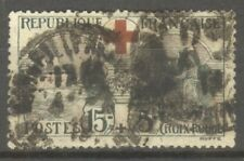 "FRANCE STAMP TIMBRE N° 156 "" CROIX ROUGE, INFIRMIERE 15c + 5c "" OBLITERE A VOIR"