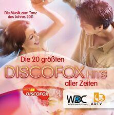 Die 20 größten DISCOFOX Hits aller Zeiten /Neu in Folie