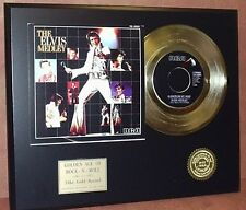 Elvis Presley - Elvis Medley - 24k Gold Record Limited Edition - USA Ships Free