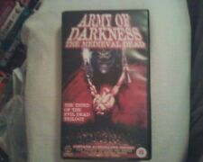 Army of Darkness: The Medieval Dead with 14 min Alternate Ending VHS RARE horror