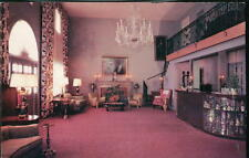 FAULKNER MD White House Motel Lobby US Route 301 Vintage Postcard Old Hotel PC