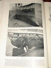 1896 HMS RAMILLIES IN DRY DOCK MALTA TWIN SCREWS RUDDER