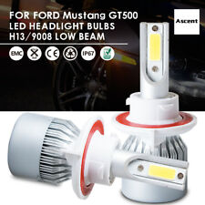 H13 9008 LED Headlight Kit Bulbs For Ford Mustang GT500 2012-2005 Replace HID US