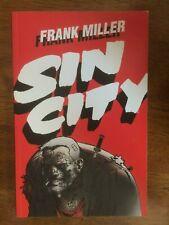 Frank Miller Sin City Paperback Graphic Novel (Dark Horse Comics 1993) Pre-owned