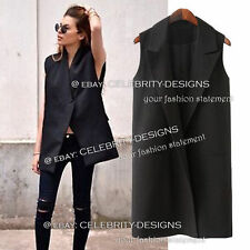 Polyester Dry-clean Only Vests for Women