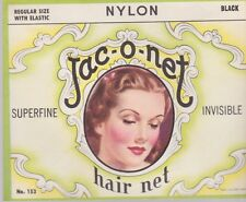 JAC-O-NET VINTAGE  HAIR NET 1930's