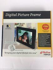 Digital Picture Frame NuVue 700Plus Digital Spectrum NEW Open Box