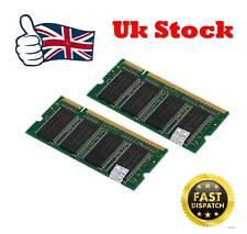 2gb 2x 1GB Memoria RAM para HP compatible Edificio DV1000 portátil