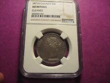 1871H Canada 50c AU