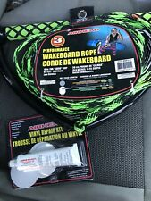 Airhead AHWR-4 Spectra Thermal Wakeboard Rope 70 Ft Blue 4 Section Boat Tow B