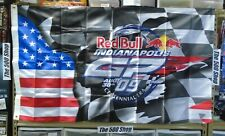 2009 Red Bull Indianapolis Moto GP Event Flag 3' x 5' Banner J. Lorenz New