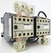 Siemens 3TK63 Leistungsschütz 24VDC 2x 12VDC Schütz 2Ö / 2S+2Ö UNBENUTZT OVP