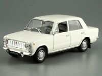 VAZ 2101 Kopeyka Classic White Sedan USSR 1970 Year 1:43 Scale Diecast Model Car