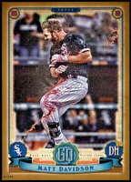 Matt Davidson 2019 Topps Gypsy Queen 5x7 Gold #21 /10 White Sox