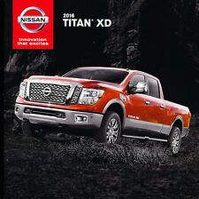2016 Nissan Titan XD Truck 20-page Original Car Sales Brochure Catalog