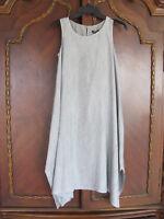Eileen Fisher Silk K/L Dress-Point d'Esprit Print-Dark Pearl- Size 2XS- NWT $398