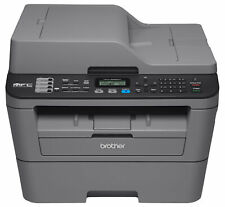 Brother All-in-One Monochrome Laser Printer Wireless Fax Machine, Refurbished