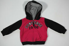 All Star Converse Mädchen Sport Kapuzenpullover Hoodie Sweatshirt Jacke Gr.3-6M