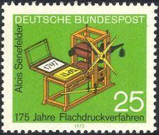 Alemania 1972 Senefelder/prensa de impresión litográfica/libros/personas 1v (n44325)