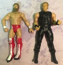 Dean Ambrose Daniel Bryan WWE MATTEL BASIC Wrestling FIGURE Lot 2 Fighters