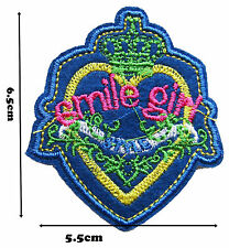 Smile Girl Iron on Embroidered Sew Patch Badge Patches Lot of designs 208