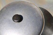 "Aluminum Pot Skillet Lid with Embossed Bakelite Knob, 6 1/4"""