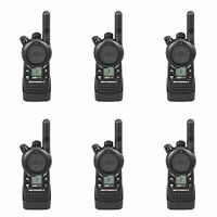 6 Motorola CLS1110 UHF Two-way Radios + Rebate for a Free Multi-Unit Charger