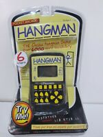 Westminster Pocket Arcade Hangman Family Electronic Handheld Word Game NEW