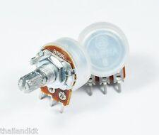 B250k 5 Piezas Alpha 250kb 250.000 Lineal pot potenciómetro 17 Mm De Eje 1//4w Volumen
