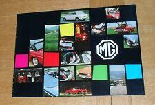 MG Brochure 1970-1971 - MGB MGB GT Midget Mk3 1300 Mk2 - British Leyland