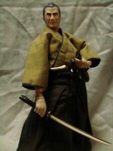 "Alfrex 1/6 Toshiro Mifune as ""Kuwabatake Sanjuro"" Yojimbo Samurai Figure Doll"